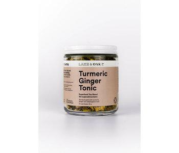 Turmeric Ginger Tonic Superfood Tea Blend 90g