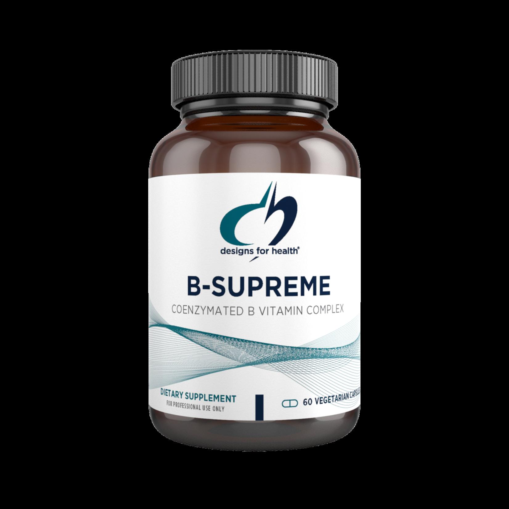 Designs for Health B-Supreme 60 caps