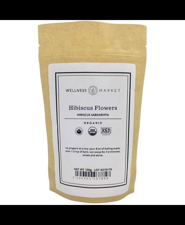 Organic Hibiscus Flowers 100g