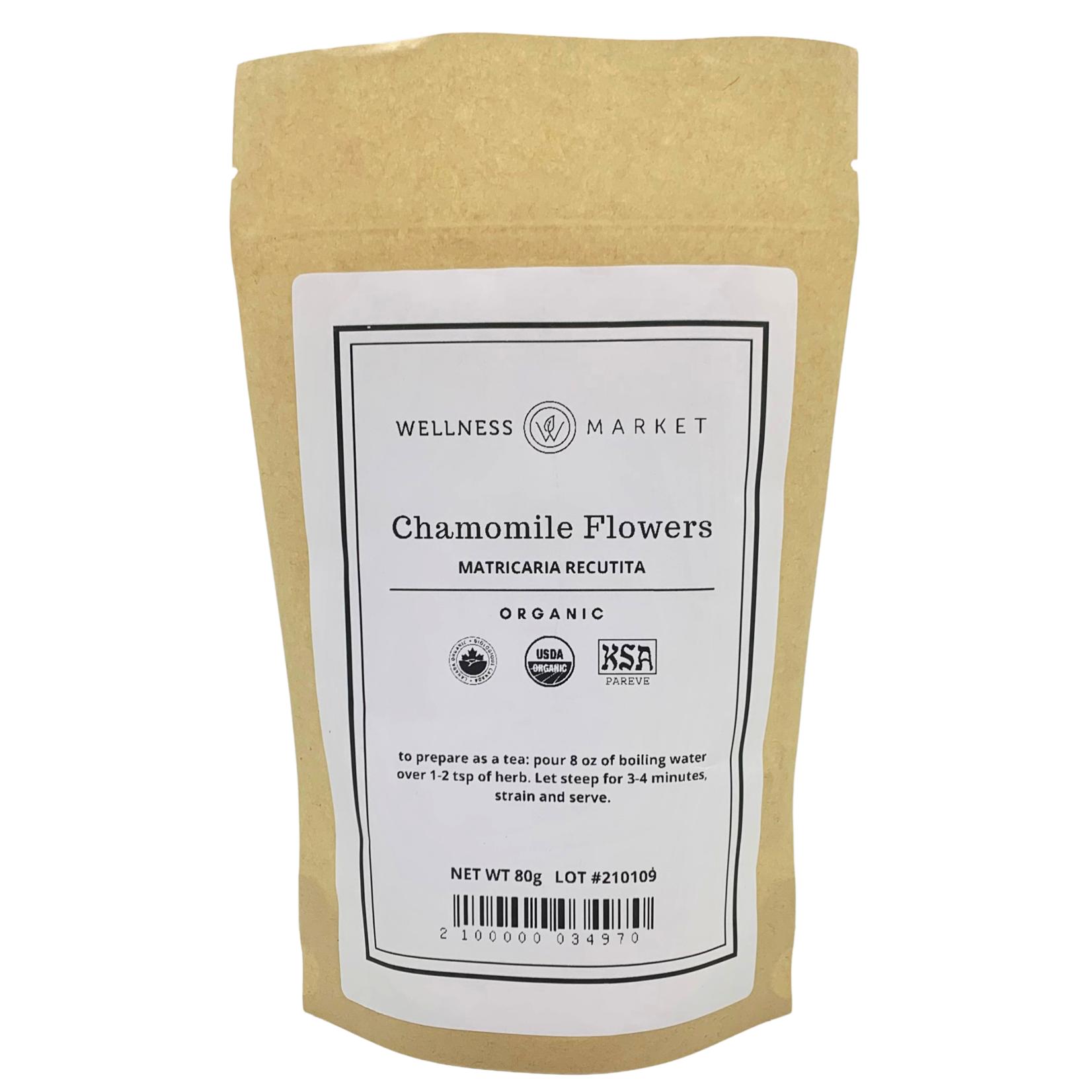 Wellness Market Chamomile Flower Loose 80g