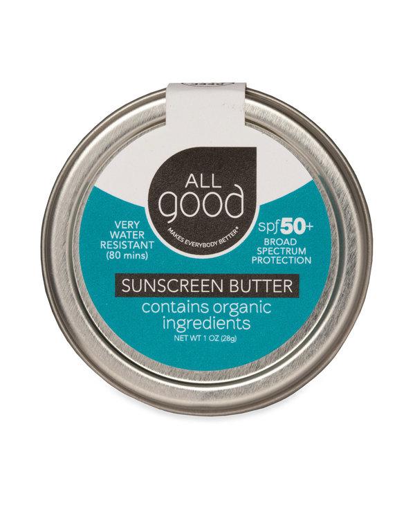All Good Sunscreen Butter Water Resistant SPF 50
