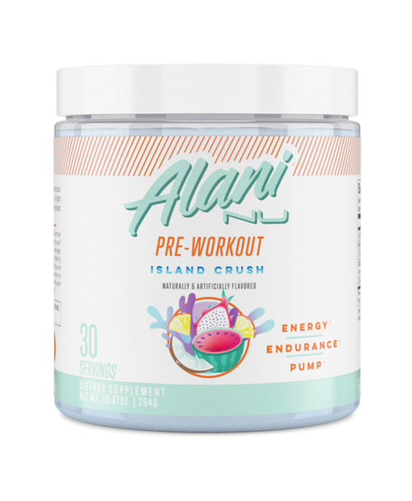 Alani Nu Pre-Workout Island Crush 294g
