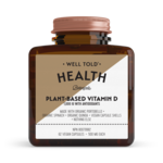 Well Told Health Plant-Based Vitamin D 1000 IU 62 caps