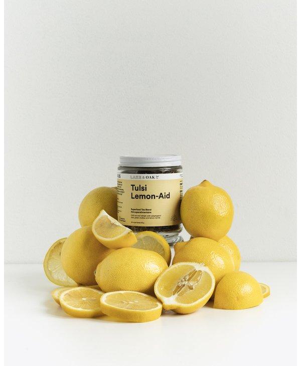 Tulsi Lemon-Aid Superfood Tea Blend 65g