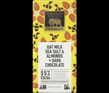 Oat Milk Sea Salt & Almonds + Dark Chocolate 55% Cacao 85g