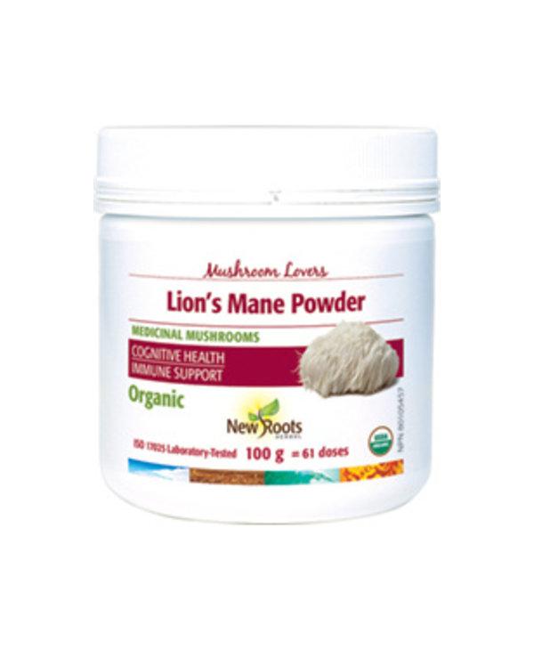 New Roots Lion's Mane Powder 100g