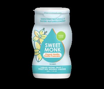 Liquid Monk Fruit Sweetener - French Vanilla 50ml