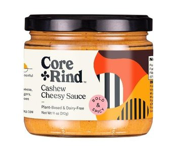 Core + Rind - Bold & Spicy Cashew Cheesy Sauce 312g