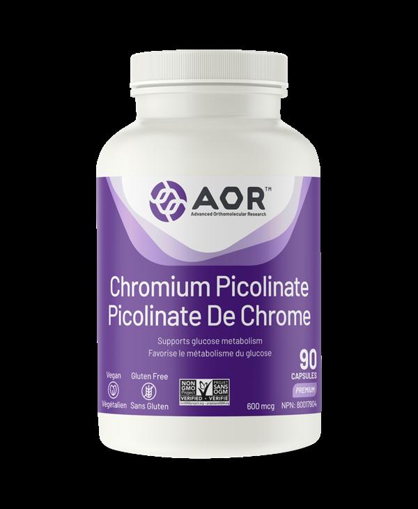 AOR Chromium Picolinate 90 caps