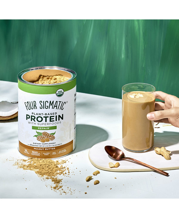 Four Sigmatic Plant Based Protein Peanut Butter 600g