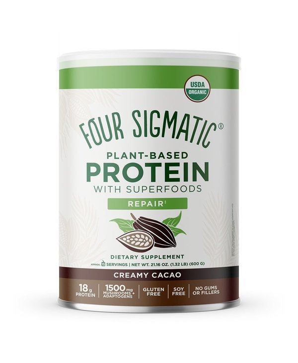 Four Sigmatic Plant Based Protein Creamy Cacao 600g