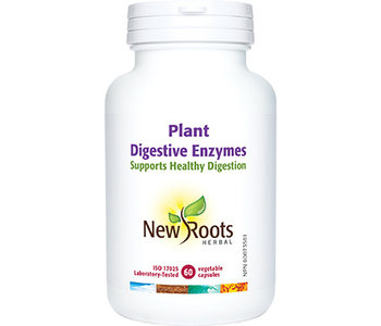 New Roots Plant Digestive Enzymes 60 caps