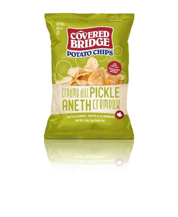 Creamy Dill Pickle Chips 170g