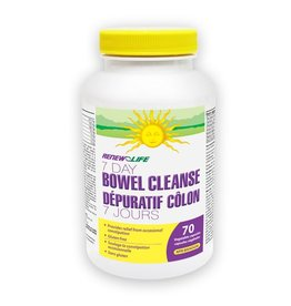 Renew Life 7 day bowel  cleanse 70's