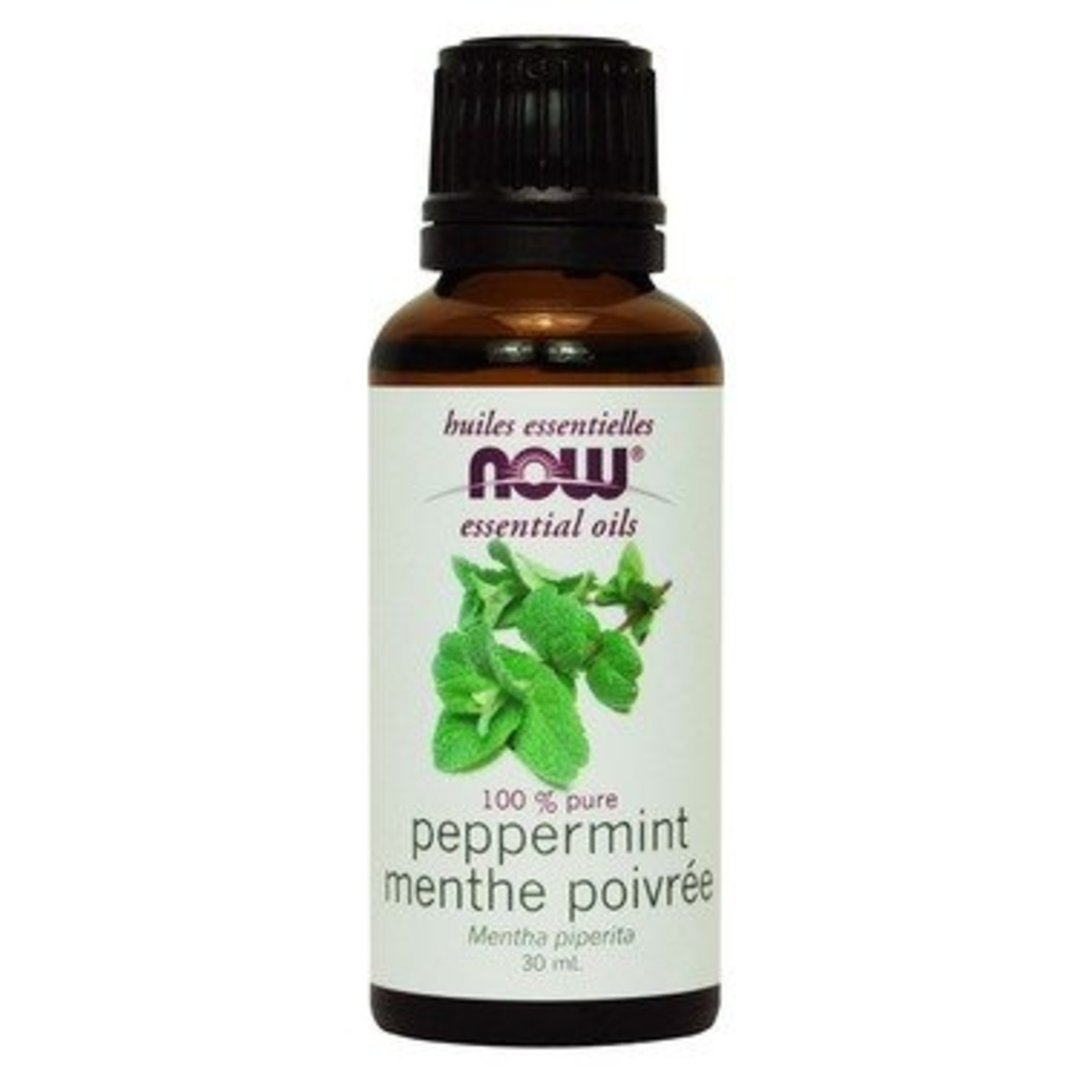 NOW NOW Peppermint Oil 30mL