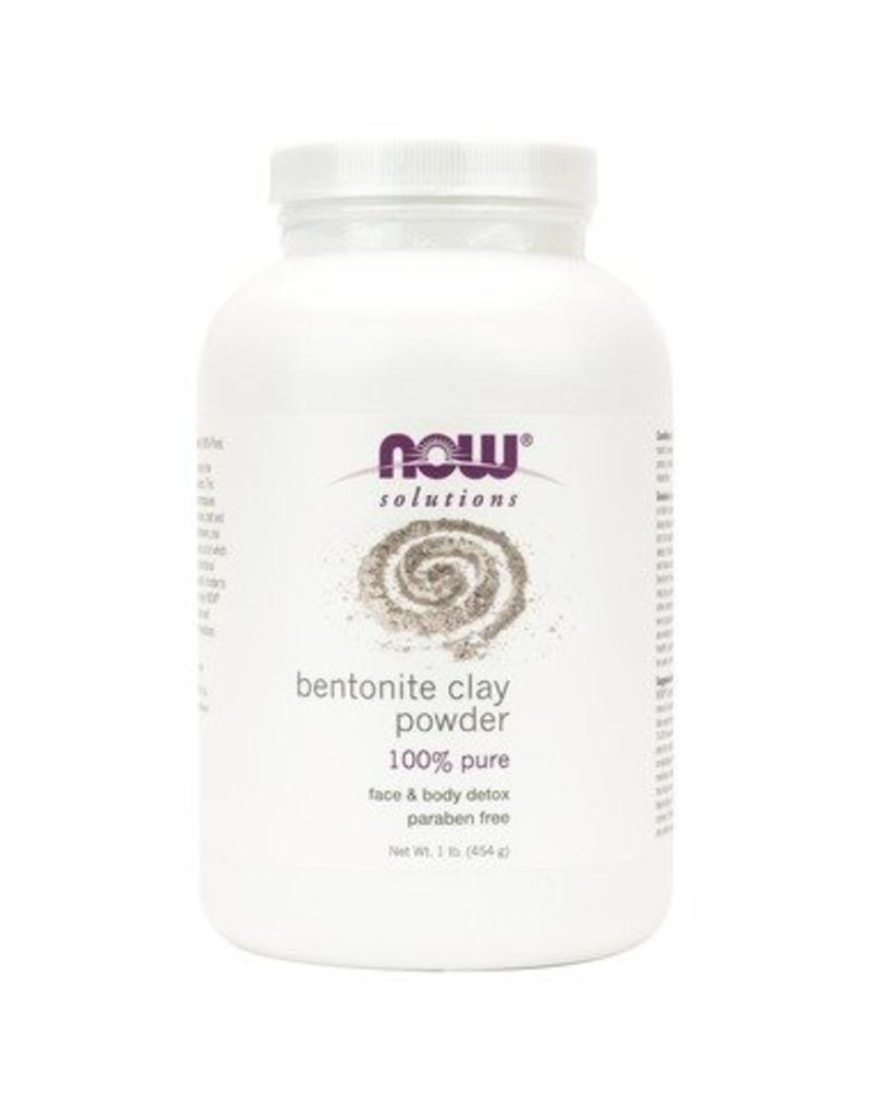 NOW NOW Bentonite Powder 454g