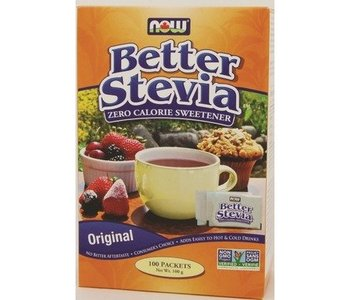 NOW Stevia Extract Packets 100x1g