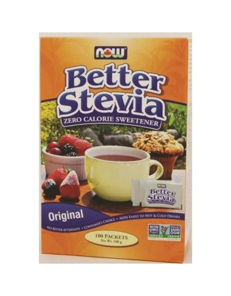 NOW NOW Stevia Extract Packets 100x1g