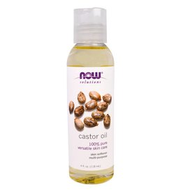 NOW NOW Castor Oil, Expeller Pressed 118mL