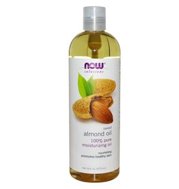NOW NOW Almond Oil Sweet Expellerpressed 473mL