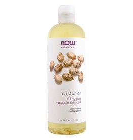 NOW NOW Castor Oil, Expeller Pressed 473mL