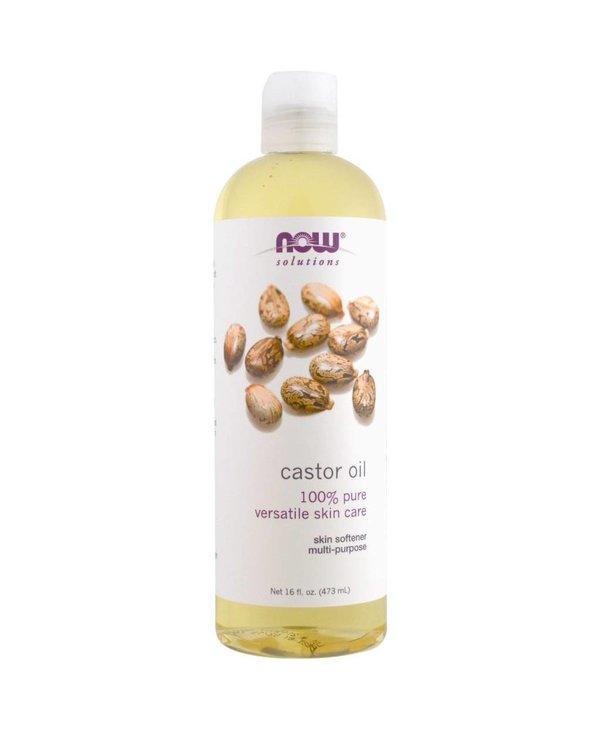 NOW Castor Oil, Expeller Pressed 473mL