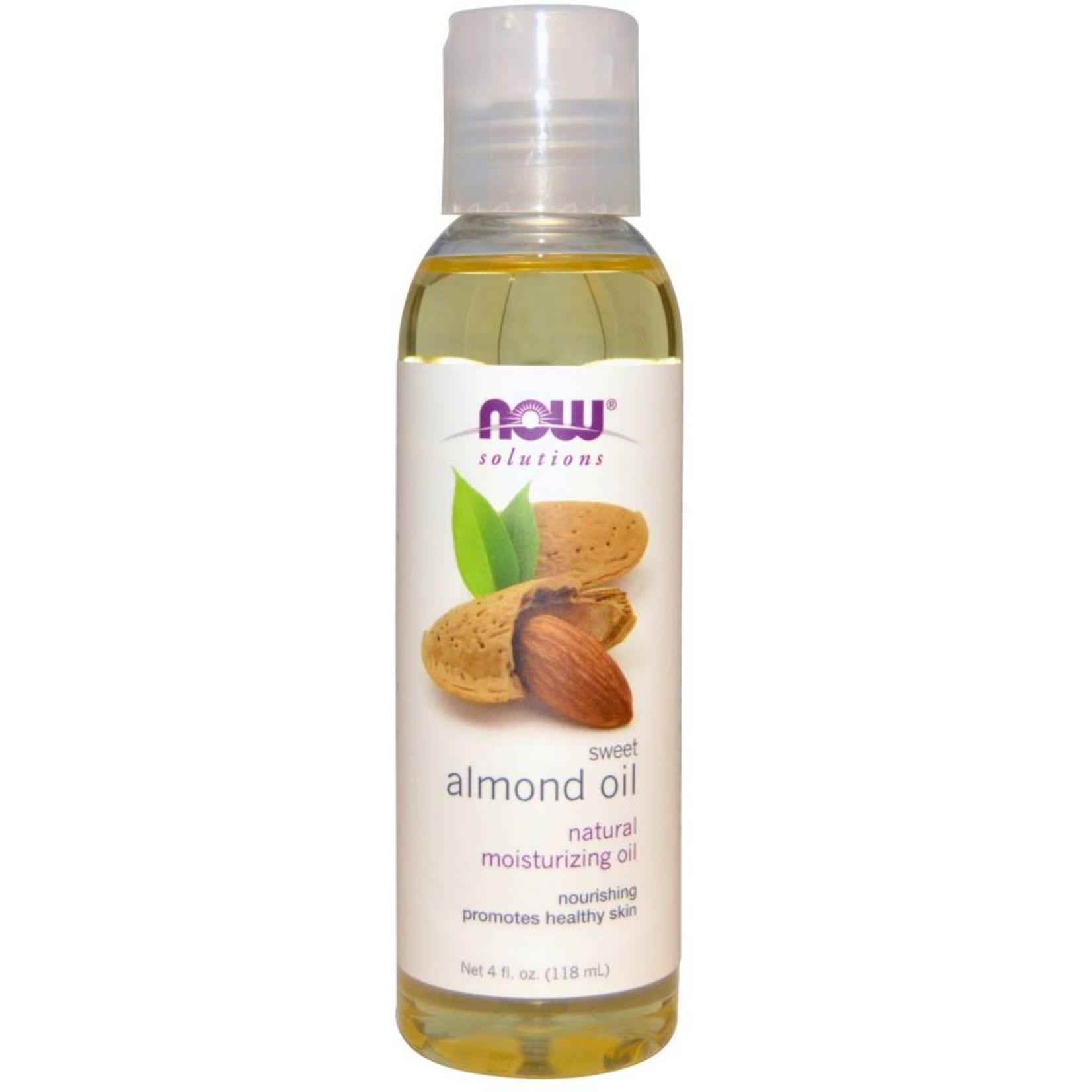 NOW NOW Almond Oil Sweet Expellerpressed 118mL