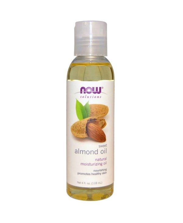 NOW Almond Oil Sweet Expellerpressed 118mL