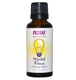 NOW NOW Focus Essential Oil Blend 30mL