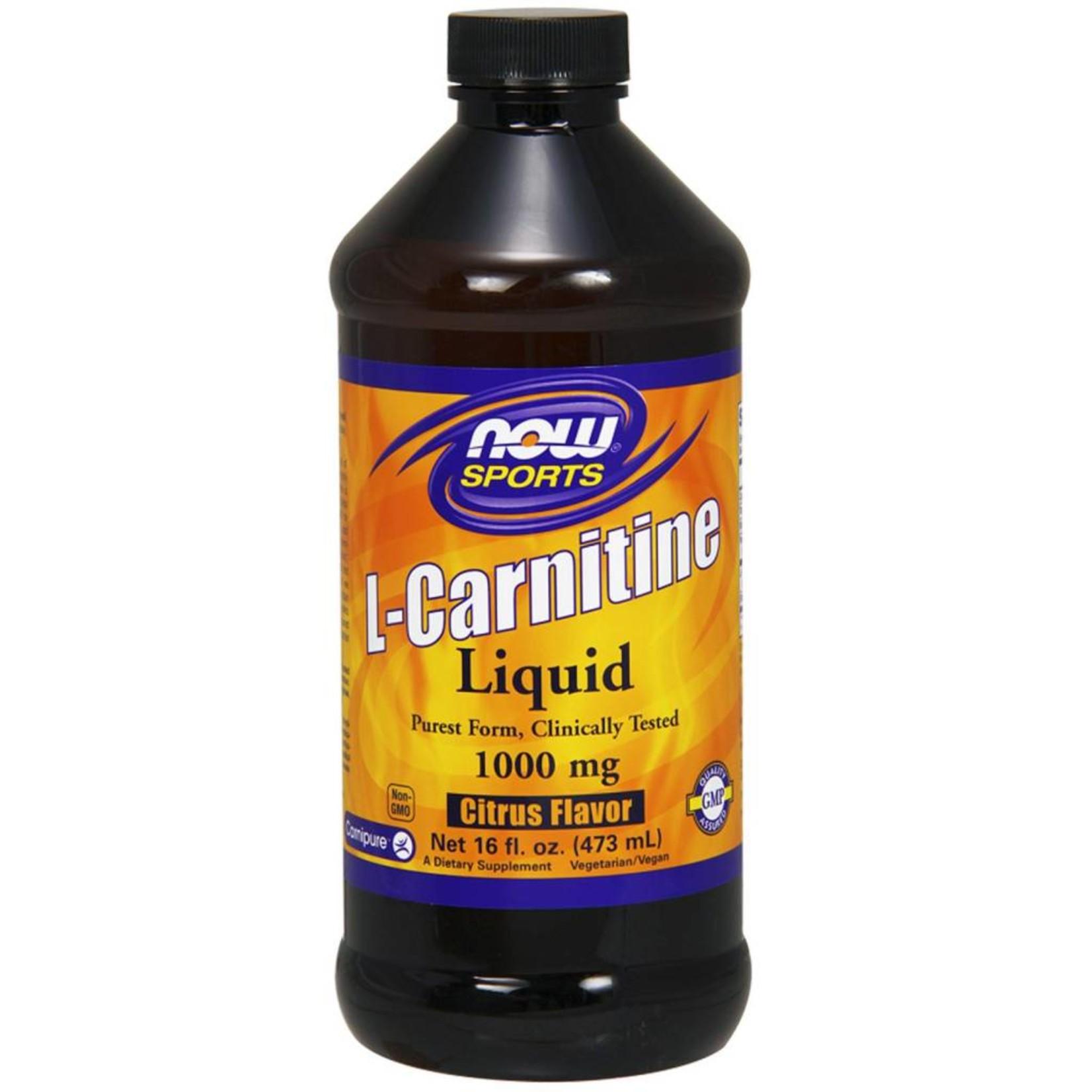 NOW NOW L-Carnitine Liq 2X Citrus 473mL