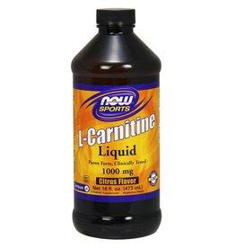 NOW L-Carnitine Liq 2X Citrus 473mL