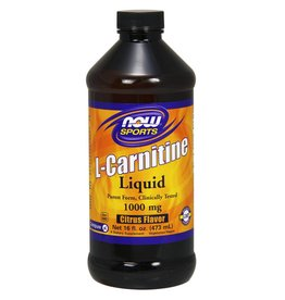 NOW NOW L-Carnitine Liq 2X Citrus 473mL