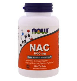 NOW NOW NAC 1000mg Extra Strength 120tab