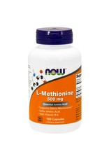 NOW NOW Methionine 500mg 100cap