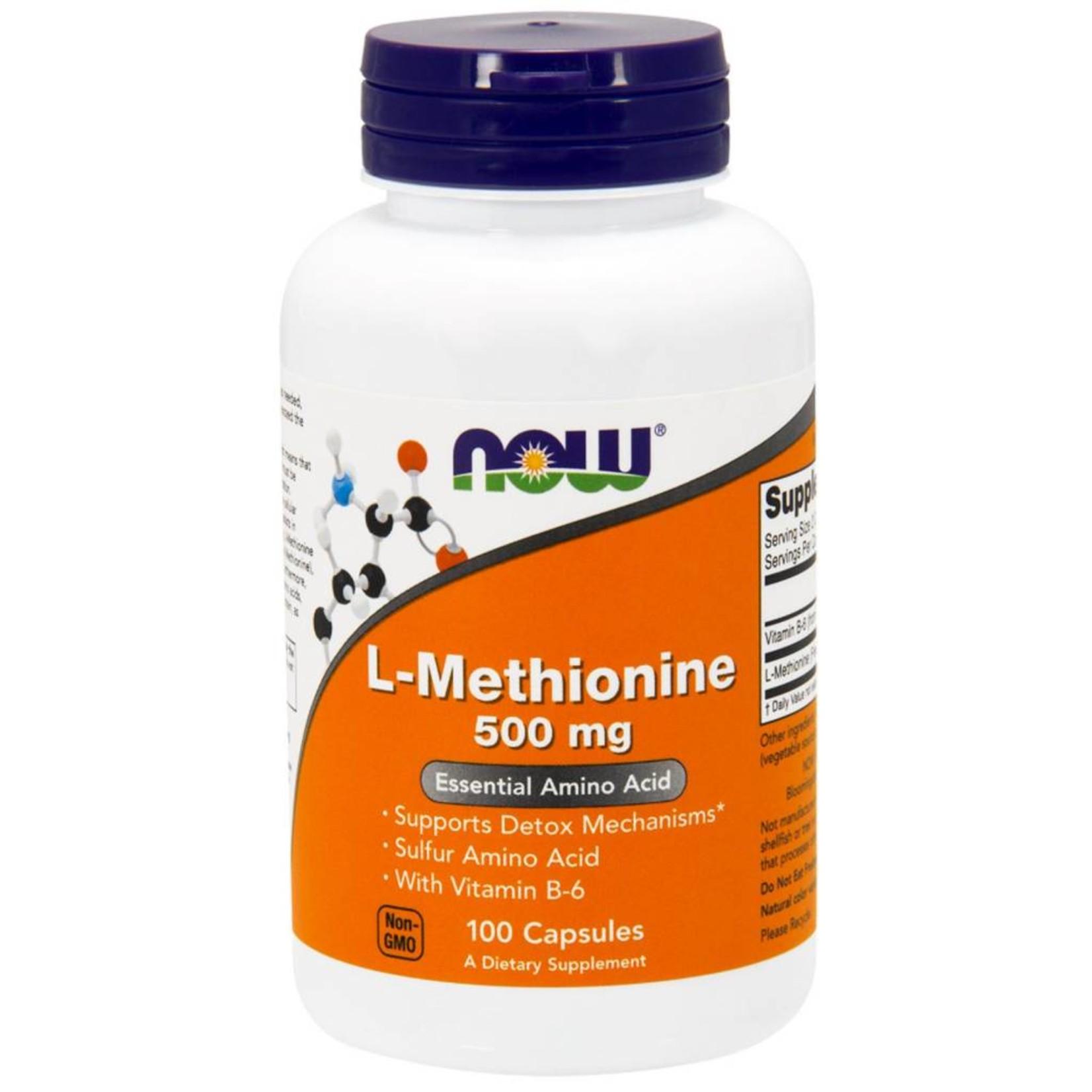 NOW NOW Methionine 500mg 100cap