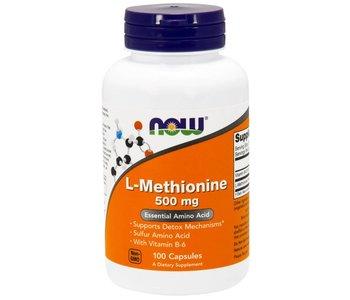 NOW Methionine 500mg 100cap