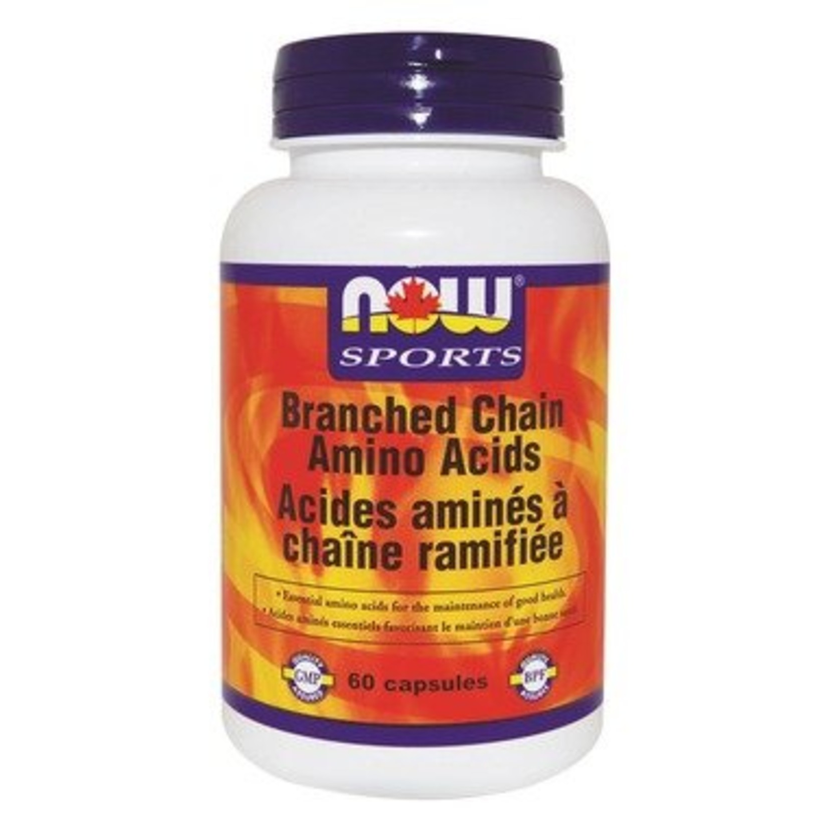 NOW NOW Branched Chain Amino Acids 60caps