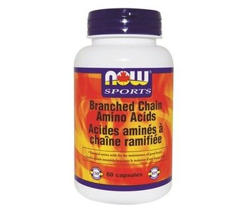 NOW Branched Chain Amino Acids 60caps