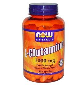 NOW L-Glutamine 1000mg 120cap