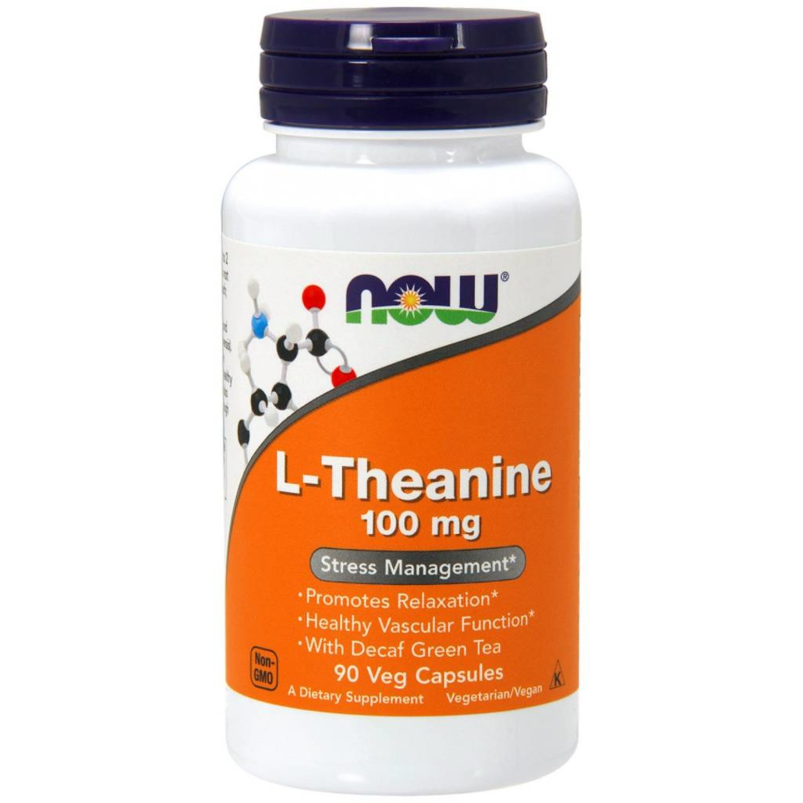 NOW NOW L-Theanine 100 mg 90vcap