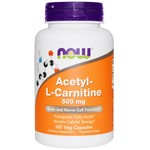 NOW NOW Acetyl L-Carnitine 500mg 100Vcap