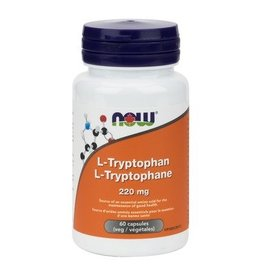 NOW NOW L-Tryptophan 220mg 60Vcap
