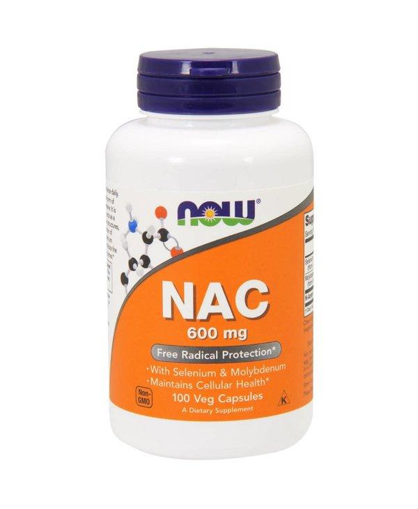 NAC 600mg 100Vcap