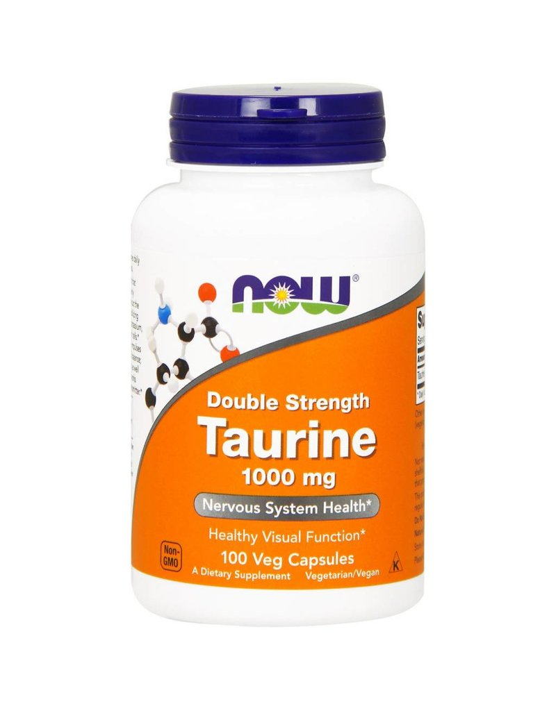 NOW NOW Taurine 1000mg Dbl Str. 100vcap