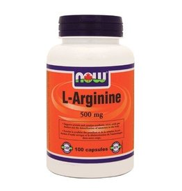 NOW NOW L-Arginine 500mg 100cap