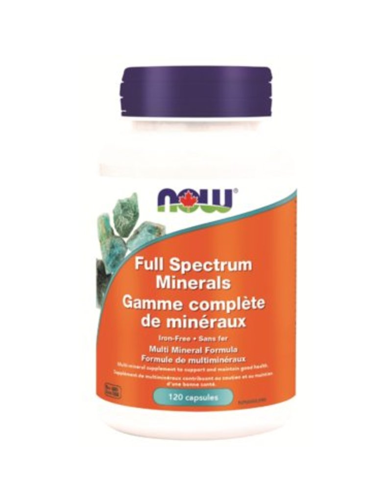 NOW NOW Full Spectrum Minerals 120cap