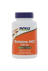 NOW NOW Betaine HCL 10gr 120vcaps