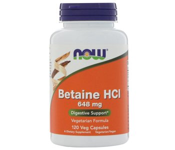Betaine HCL  120vcaps
