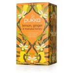 Pukka Lemon Ginger Manuka Honey 20 tea bags