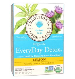 Traditional Medicinals Everyday Detox Lemon 16 Tea Bags